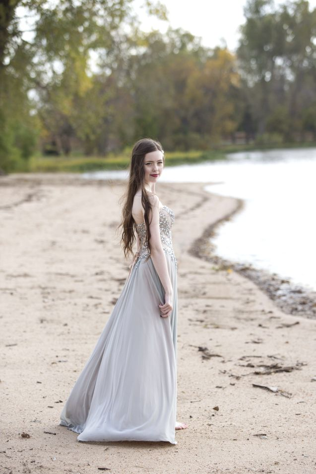 Beautiful Senior Photography Lake Prom Dress Wichita Ks Senior