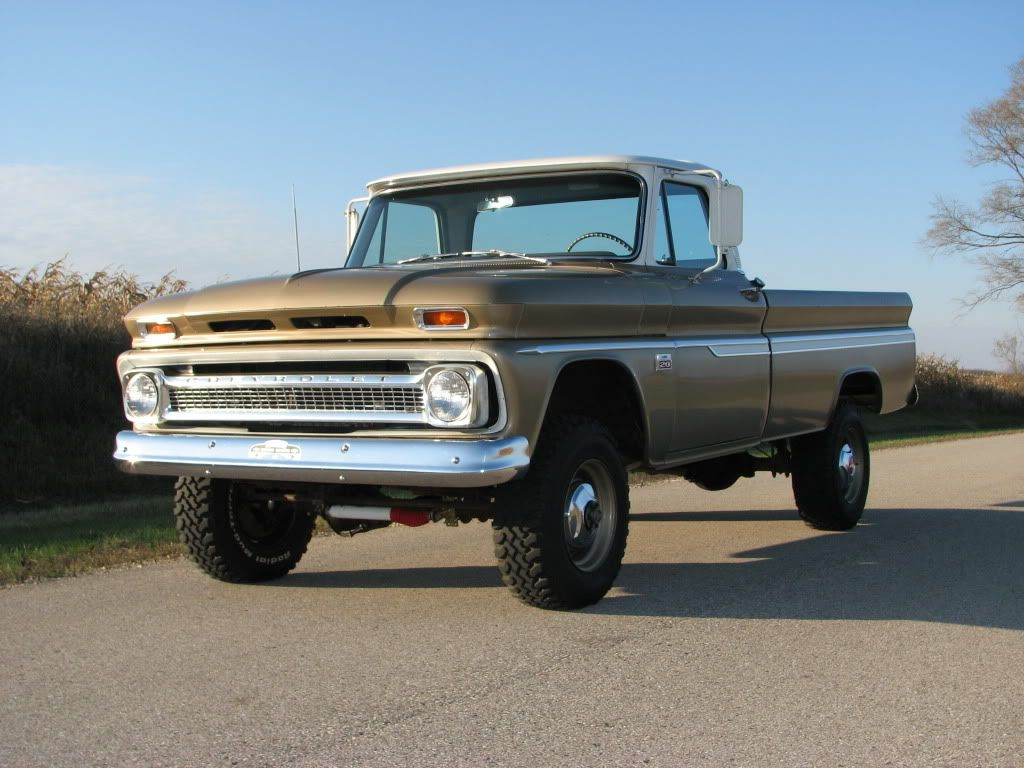60-66 Chevy And GMC 4X4's Gone Wild - The 1947 - Present Chevrolet ...