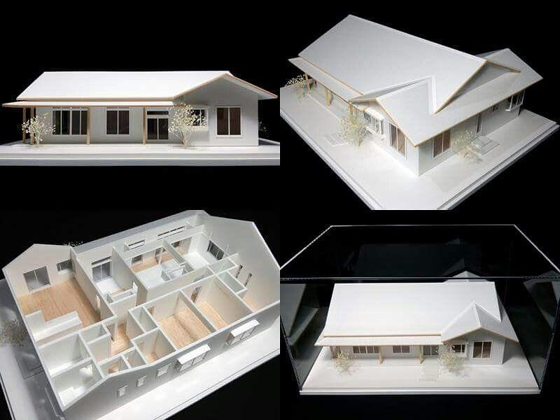 S 1 100住宅模型です ノ Youtube動画 建築模型の作り方