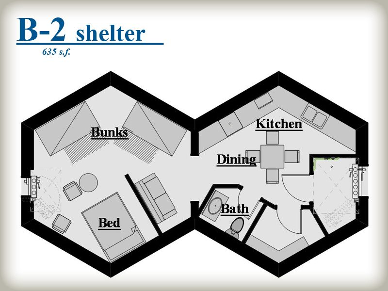 Beehive shelter systems honeycomb pod system haus for Honeycomb house floor plan