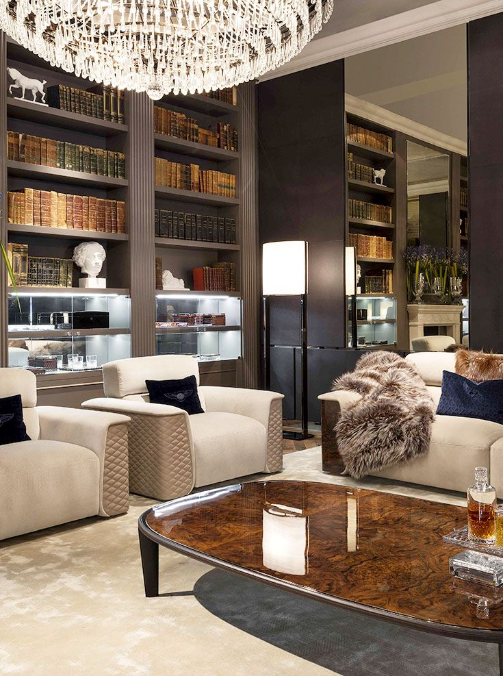 Bentley Home Lux Armchairs Cliffden Coffee Table And Lux Royce