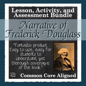 Narrative Of The Life Frederick Douglas Teaching Unit Novel Guide Book Study Essay Questions