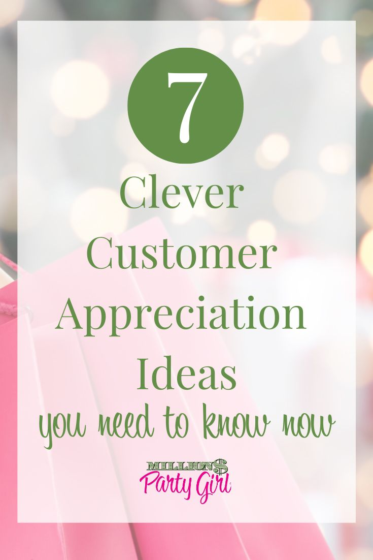 Customer Appreciation Event Ideas For Direct Sellers With