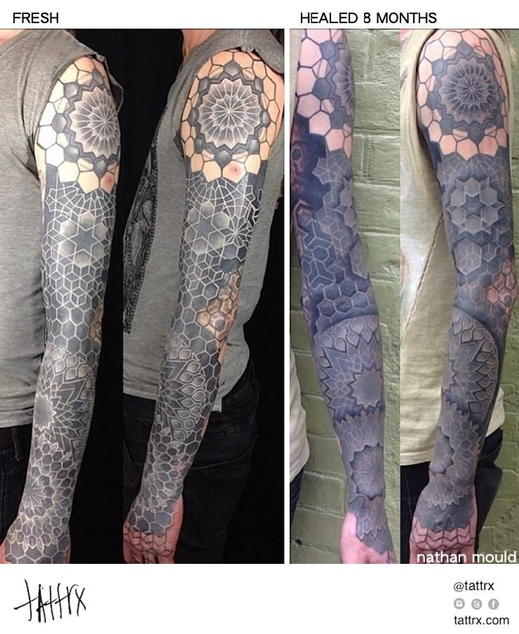 Nathan Mould Tattoo White Ink Over Blackwork For Barnsey Healed 8 Months Samoanische Tattoos Tattoos Ideen