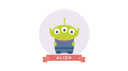 Toy Story Alien Minimal Pixar And Disney Characters Minimalism