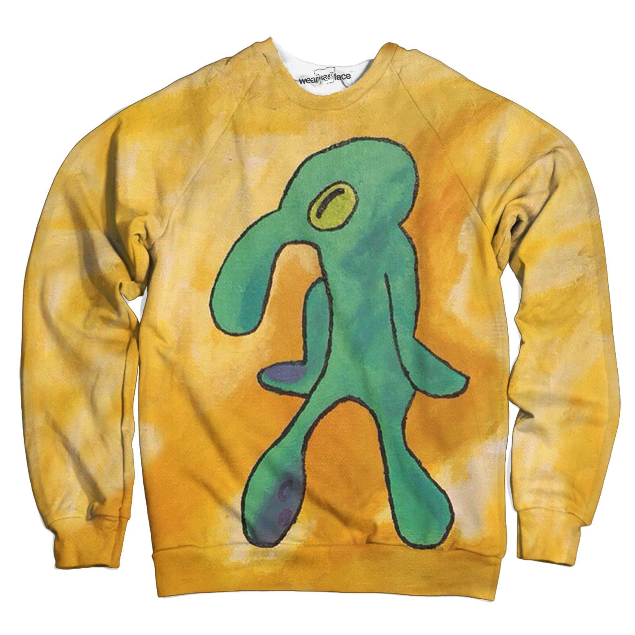 38b353d8106 Pastel Squidward Sweatshirt