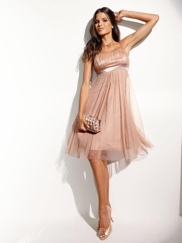 Robe de soiree rose mariee