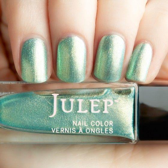 Julep - Francine (Boho Glam) Seaglass iridescent chrome - tried ...