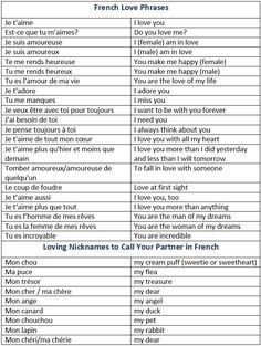 Image Result For I Love You Today More Tomorrow In French French