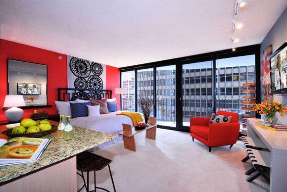 Wunderschone Wohnung Mit Einem Schlafzimmer Interieur Design Ideen Mehr Auf  Unserer Website Also Rh Za Pinterest