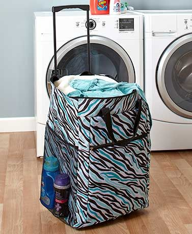 Rolling Laundry Bags College Room College Dorm