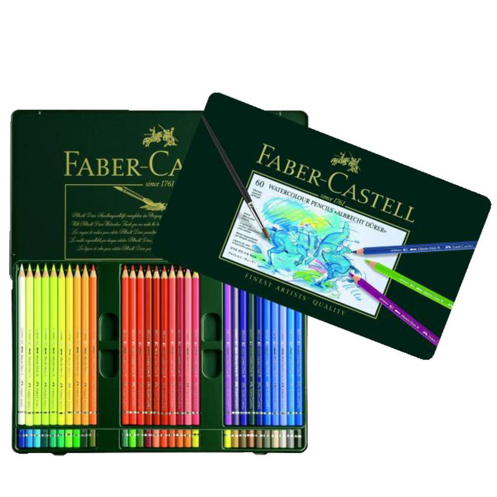 Faber Castell Albrecht Durer Watercolour Pencils 60 Pack