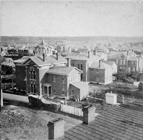 Quality Hill 10th And Pennsylvania 1870s Kansas City Downtown Kansas City Missouri American Cities