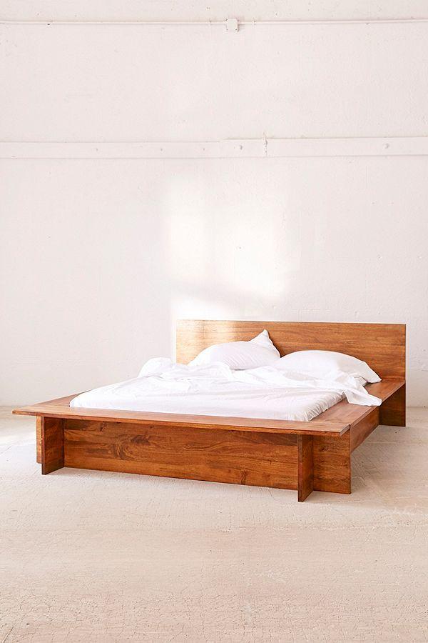 Urban Outfitters Modern Boho Platform Bed Frame