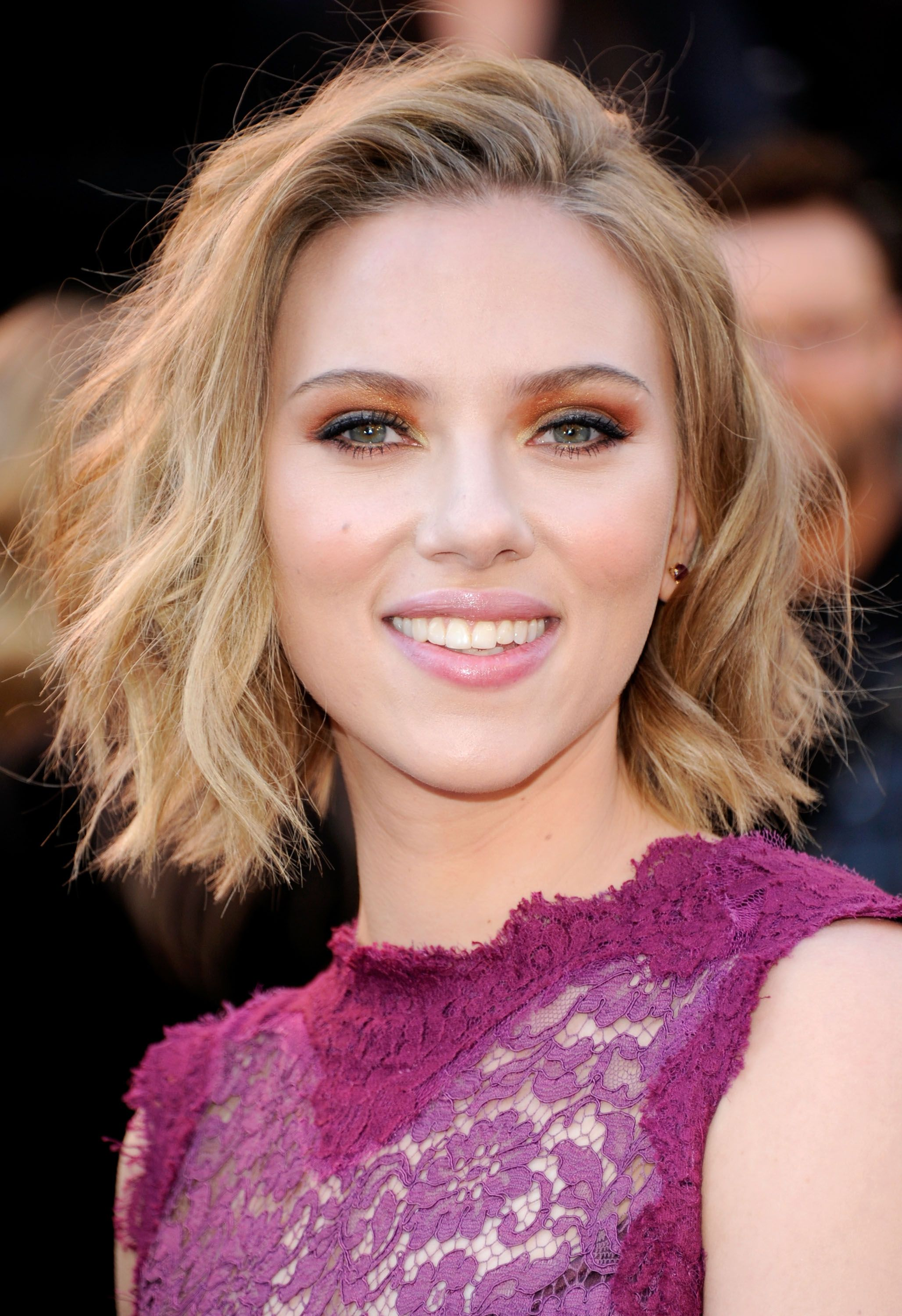 Scarlett Johansson Short Hair Blonde Hair Color Long Hair Styles Short Hair Styles