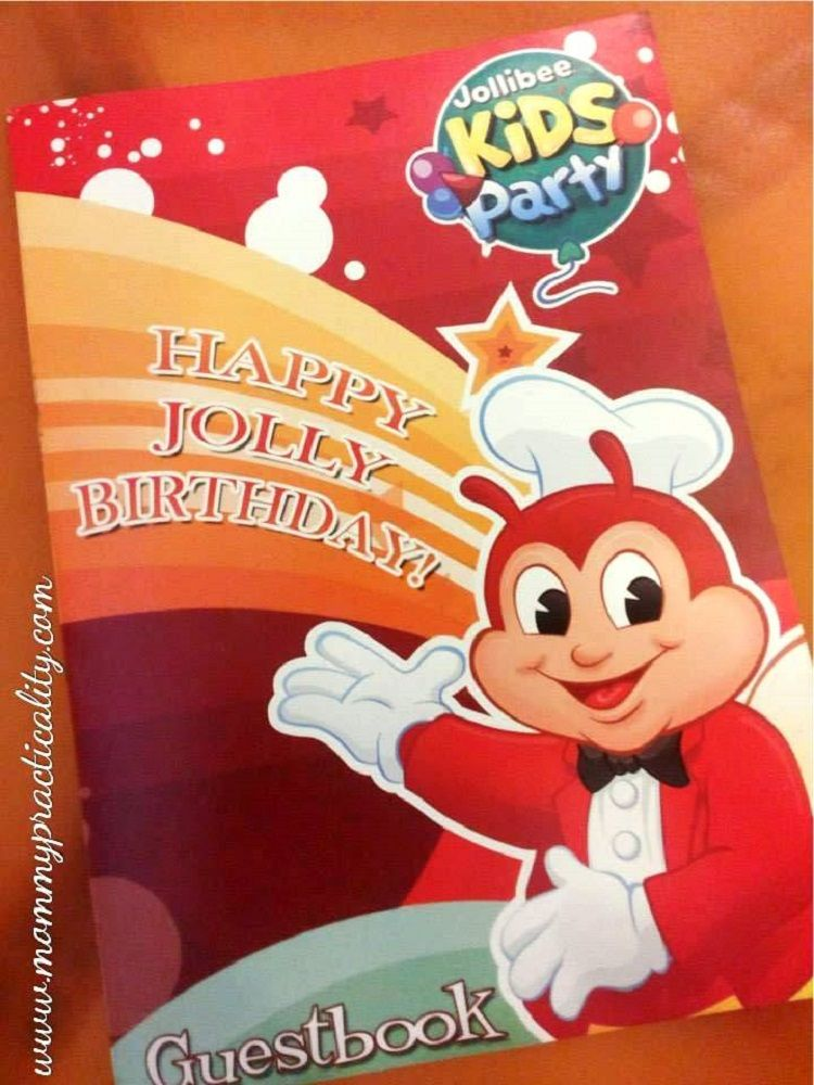 1st Birthday Invitation Jollibee Party Invite Template