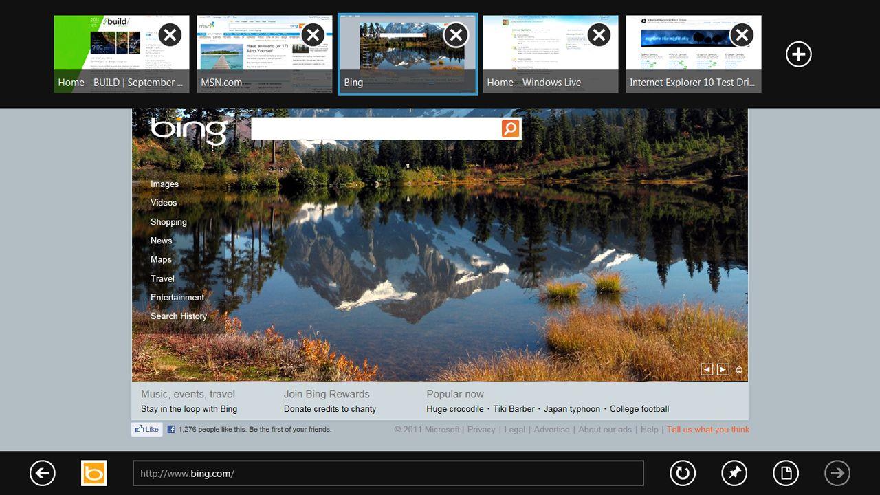 Windows 8 Developer Preview Screenshot Gallery