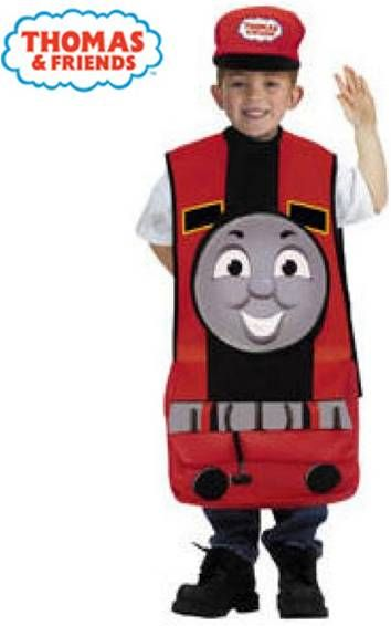 Thomas and Friends James the Red Train Costume $30 (for birthday then Halloween)  sc 1 st  Pinterest & Thomas and Friends: James the Red Train Costume $30 (for birthday ...