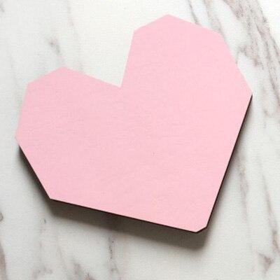 Wooden Door Hooks - Pink Heart 6 / 7-15 Days