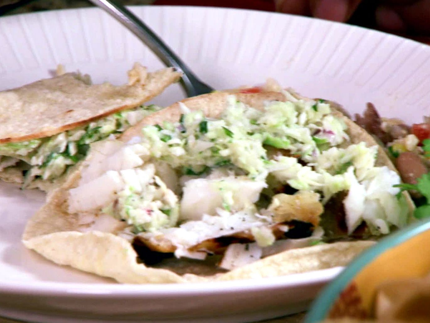 What better way to celebrate #TacoTuesday than with The Neelys' Grilled Southern Fish Tacos with Cabbage Slaw