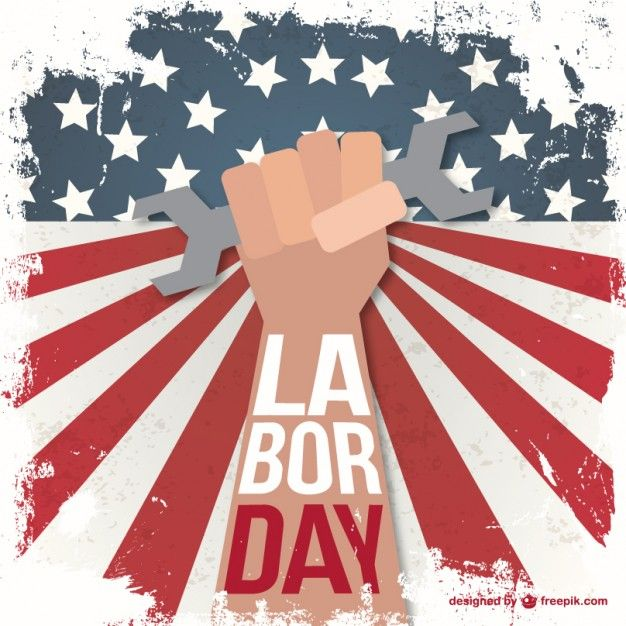 Download Labor Day Grunge Illustration For Free Holiday Graphics America Independence Day Labor Day Holiday