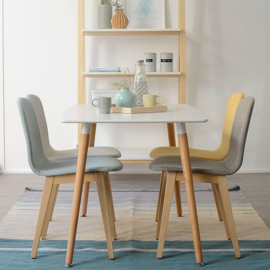 Aruba silla tapizada mesas sofas sillas y taburetes for Juego de mesa y sillas para cocina