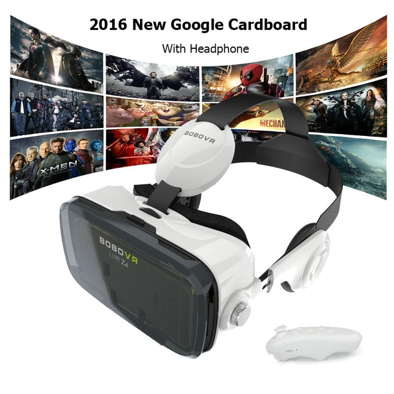 Bobo Vr Z4 Vr Headset With Headphones Built In Virtual Reality