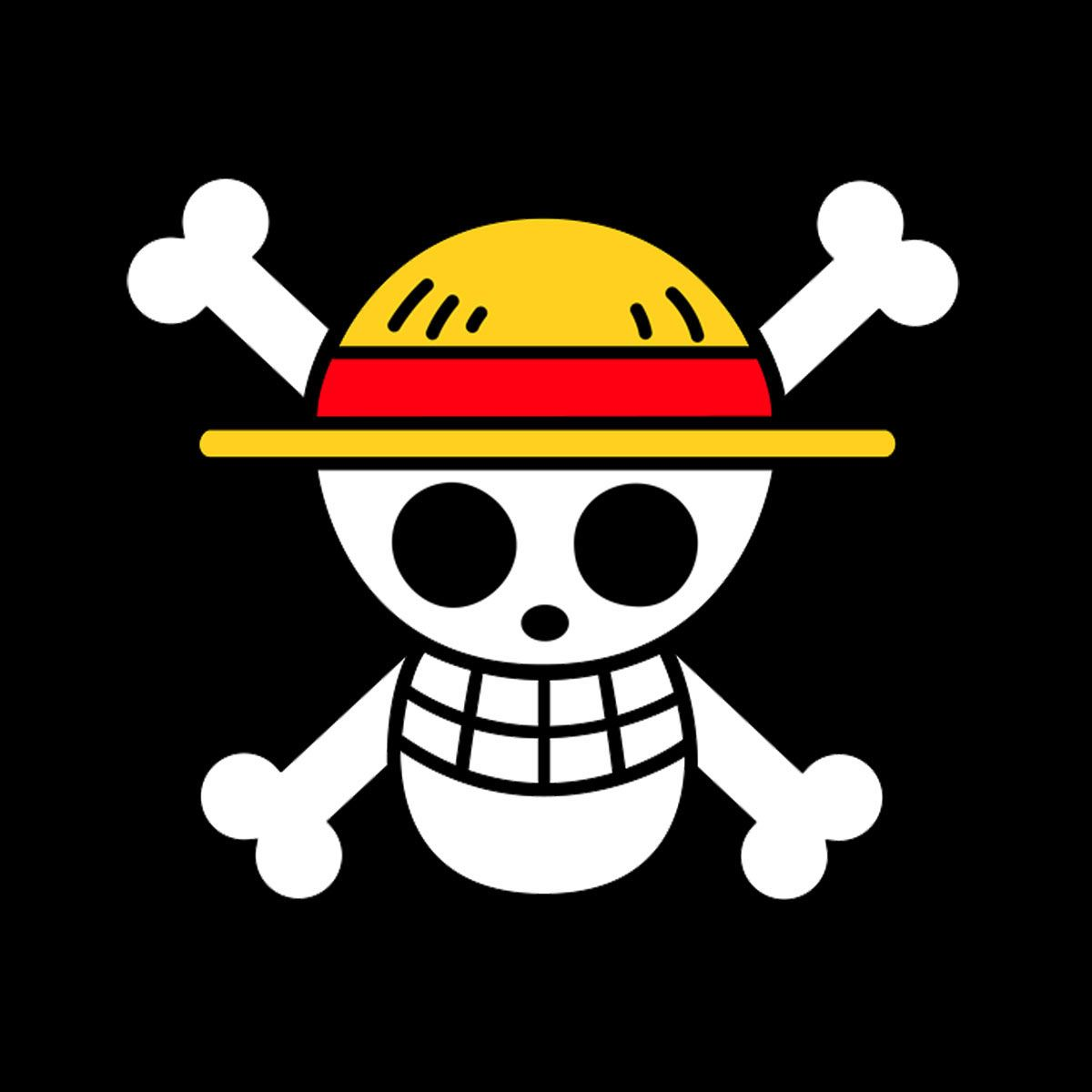 Camiseta One Piece. Calavera Pirata Jolly Roger 62f2e09771e