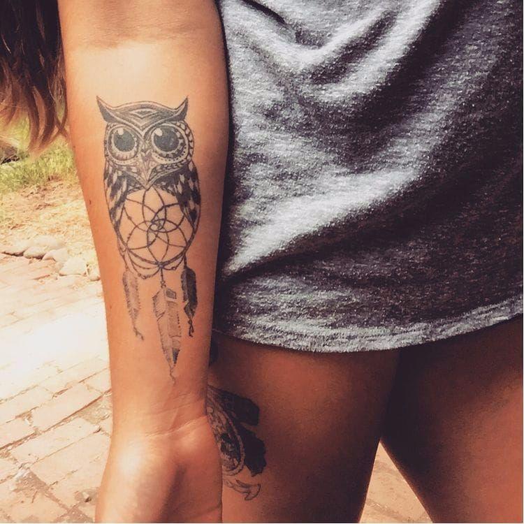 Cute Owl Tattoo, Tattoos, Girly Tattoos