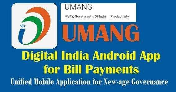 UMANG Digital India Android App Install for Bill Payments