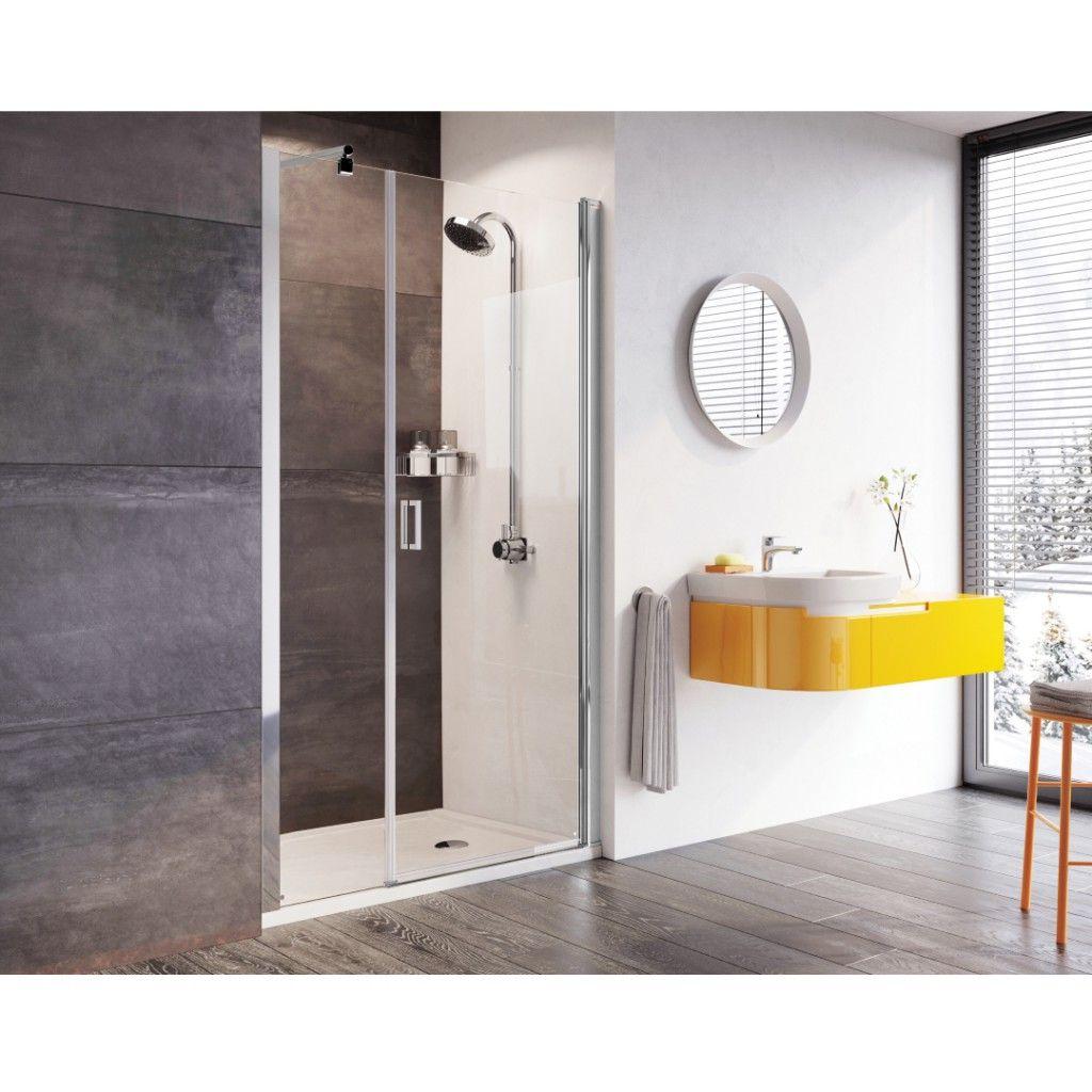 Roman Showers Innov8 Pivot Door With In Line Panel Shower