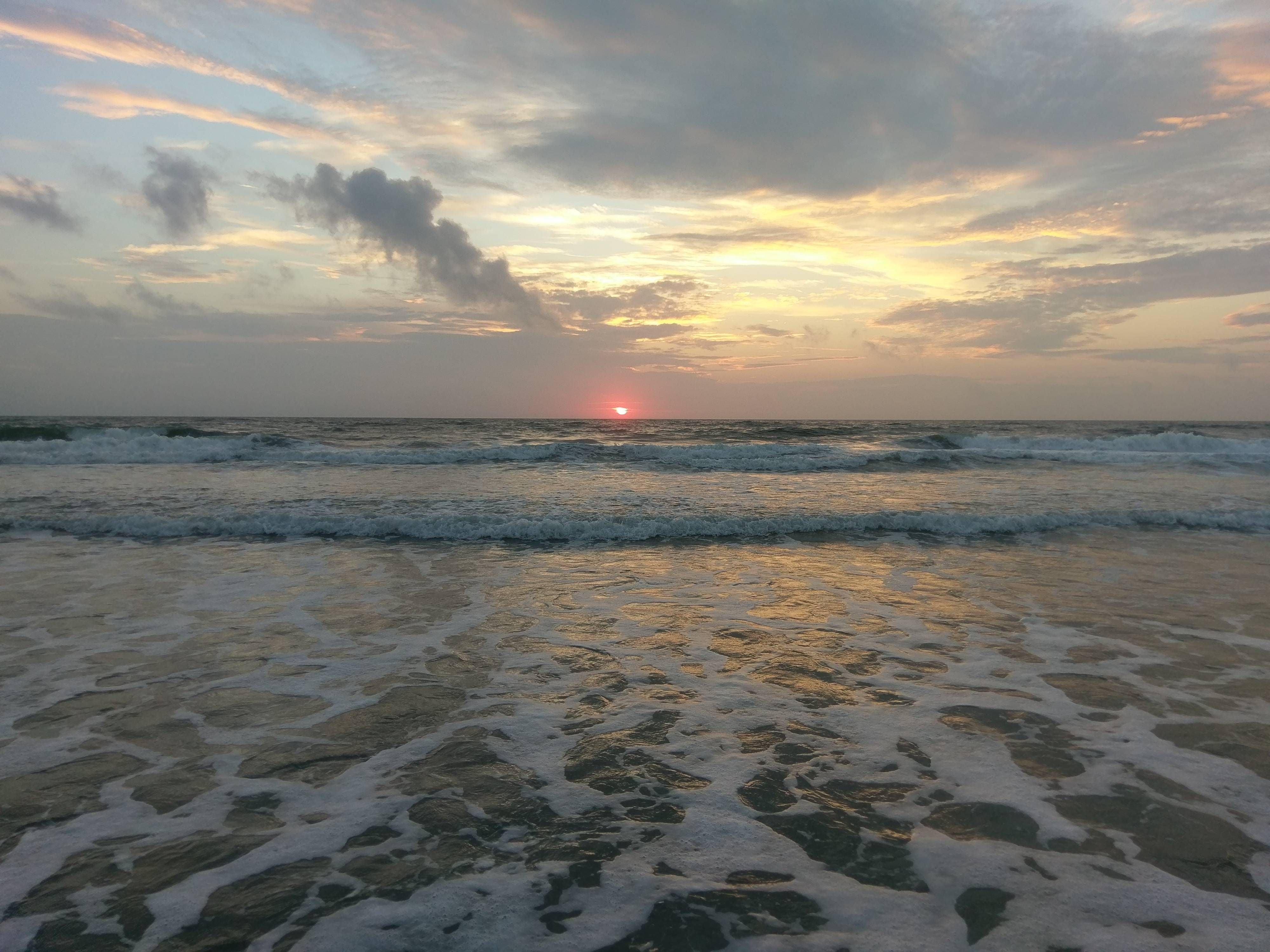 Sunrise On Whalehead Beach Corolla Nc This Morning 4000x3000 Oc Corolla Nc Nature Sunrise