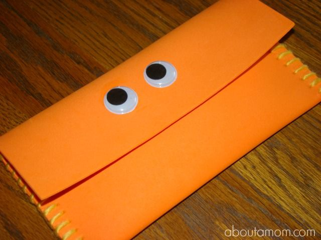 Monster Pencil Case Craft For Kids Back To School Crafts Pencil
