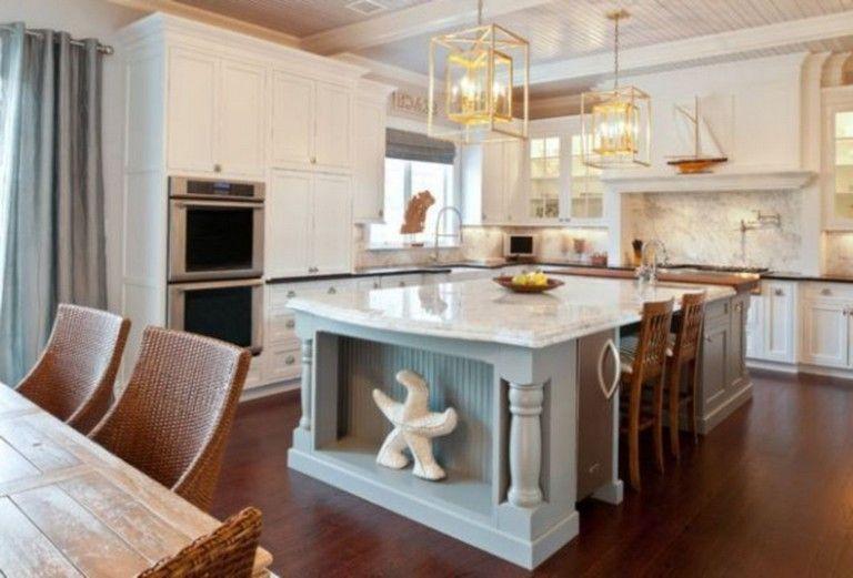 42 Awesome Modern Coastal Kitchen Design Ideas Kitchen Design