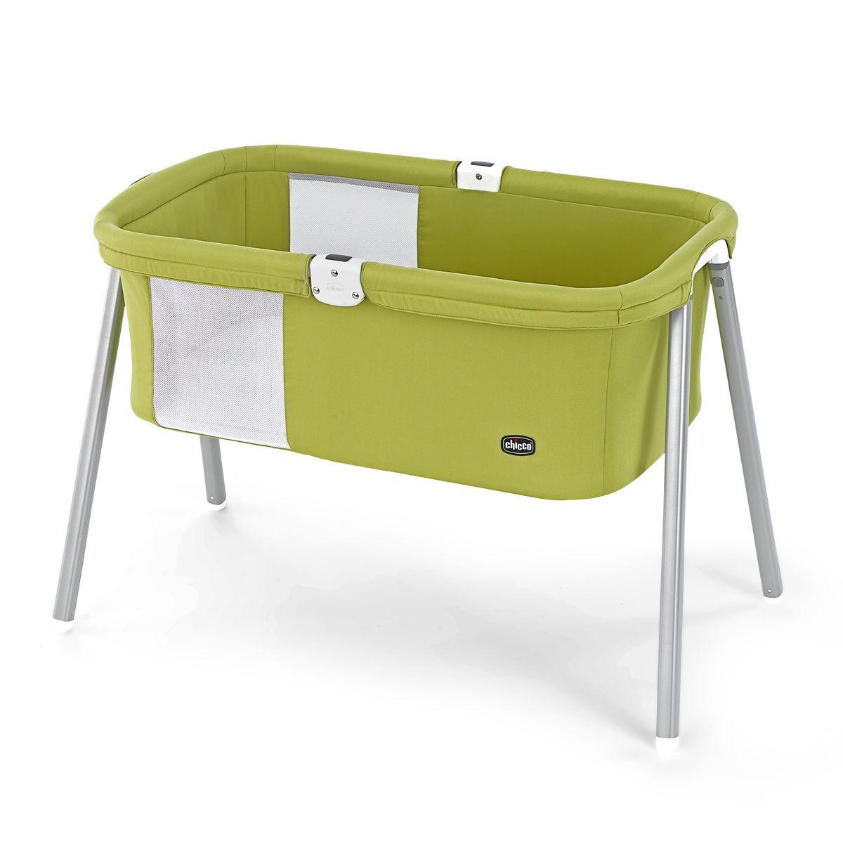Co Sleeper for Baby Easy Folding Portable Crib KoolaBaby Baby Bassinet Bedside Sleeper Grey