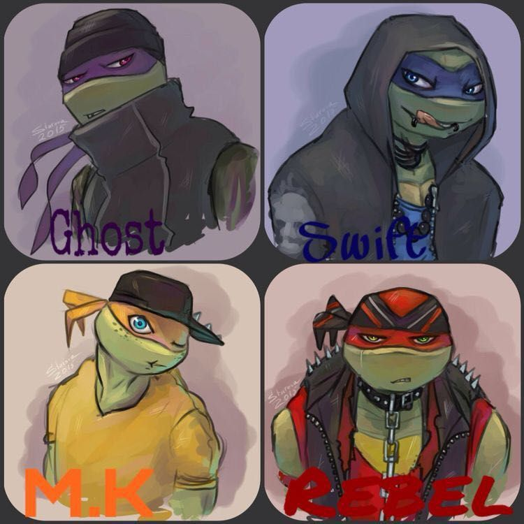 They call us freaks (emo reader x tmnt ) - Chapter One | nlp
