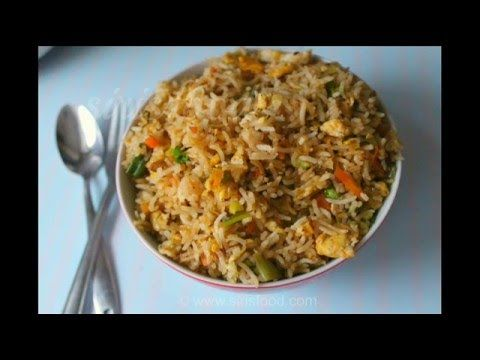 Egg Fried Rice - Indian