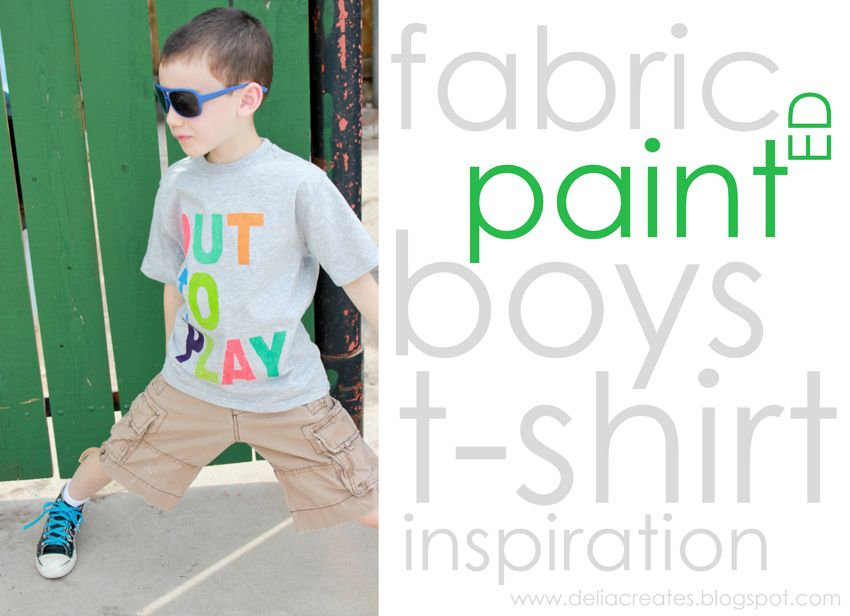 Fabric painted T-shirts.  Not really a sewing project...but definately on my to-do list this summer!