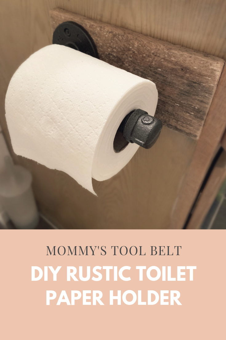 Build Your Own Rustic Toilet Paper Holder Rustic Toilet Paper