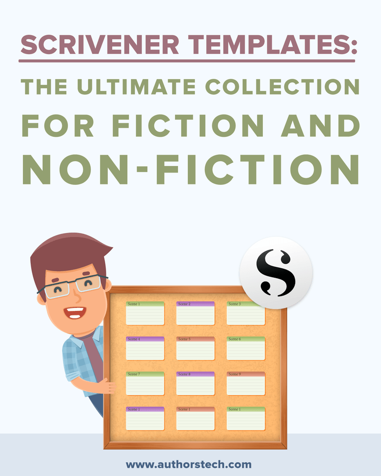Scrivener Templates The Ultimate Collection for Fiction