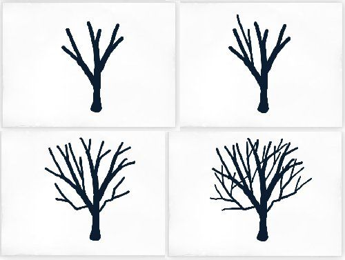 Landscape Drawing Tutorial How To Draw Intermediate Tree Drawing
