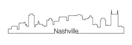 Nashville Skyline Tattoo Is Tennessee Tattoo Skyline Tattoo Nashville Skyline