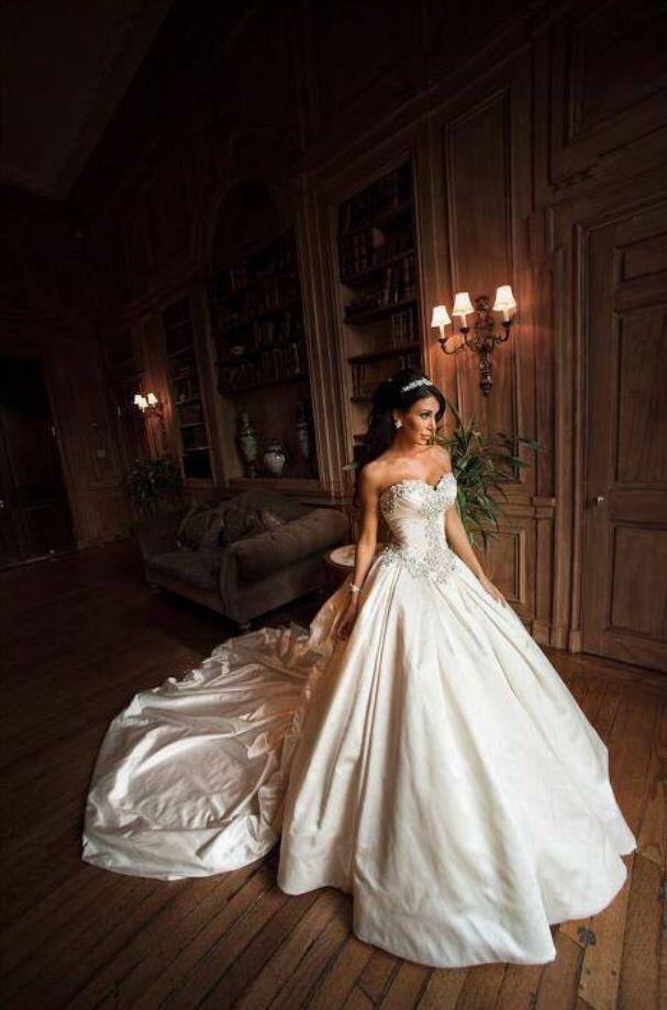 My dream wedding dress - designer Pnina Tornai worn by Jennifer ...