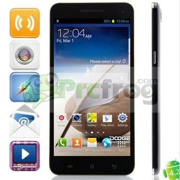 Doogee Max Dg650 Android 4 2 2 3g Mtk6589t Quad Core Phone 6 5 Inch Fhd Ips Ogs Lcd 2gb 32gb Android 4 Android Phone Phone