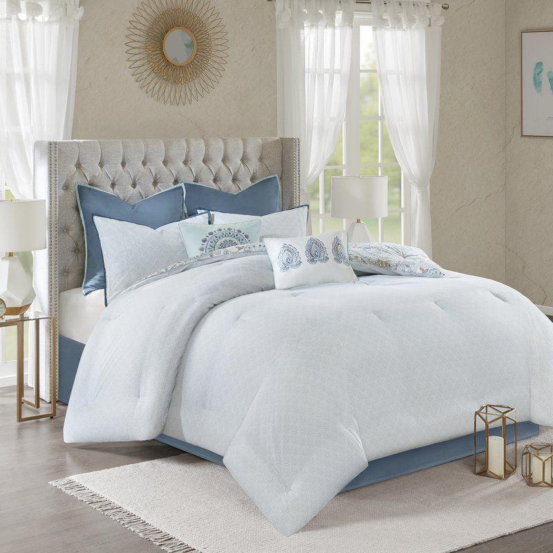 Kinsley Reversible Comforter Set Comforter Sets Farmhouse