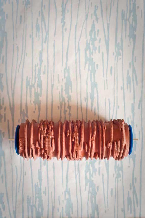 SNOWINSPRING Papel Pintado Rodillo de Madera de Costura Plana Rodillo S/ólido de Costura Herramienta de Rodillo de Presi/ón Combinada de Doble Cabezal con Herramienta de Suavizado