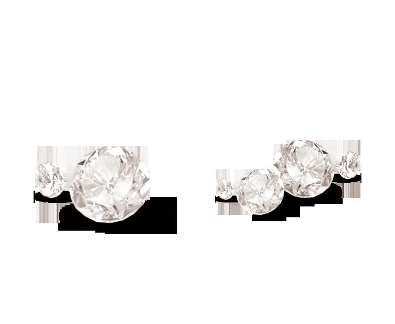 Decorative Diamond Patterns Earring Gemstone Crystal Diamond Crystal Gemstone Earrings Gemstones