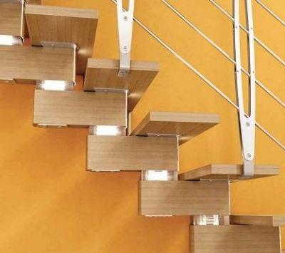 Escaleras modulares escaleras metal madera pinterest for Escaleras de metal y madera