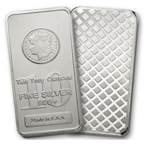 10 Troy Ounce Morgan Head Design 999 Fine Silver Bullion Bar This Is A Morgan Head Design 10 Troy Ounce 999 Buy Gold And Silver Silver Bullion Silver Bars