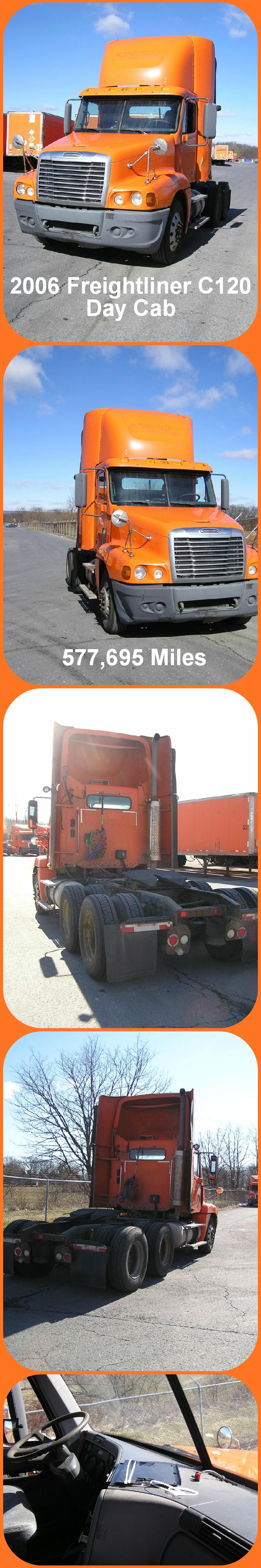 DealOfTheDay '06 Freightliner C120 Day Cab w/ 578K Miles